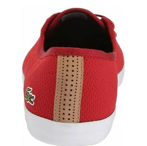 Lacoste Shoes - Red Ziane Chunky Lacoste sneaker